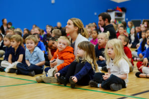 Students at Battle Creek Montessori Academy